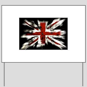 British Flag Union Jack Yard Sign