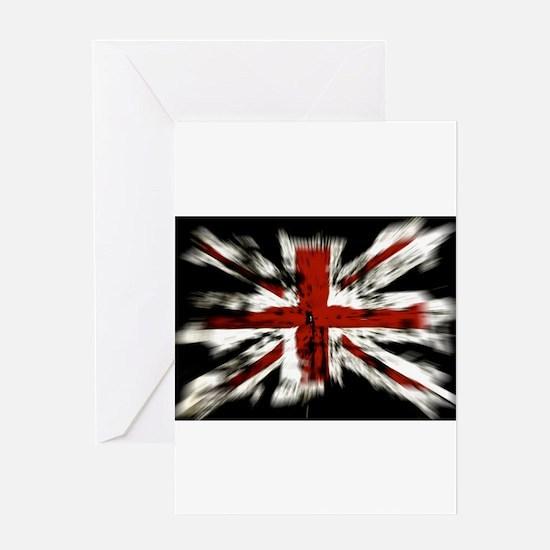 British Flag Union Jack Greeting Cards