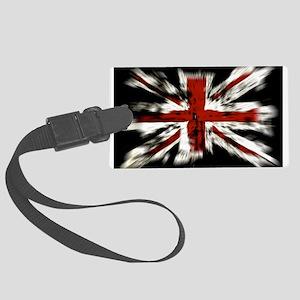 British Flag Union Jack Luggage Tag