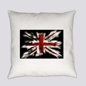 British Flag Union Jack Everyday Pillow