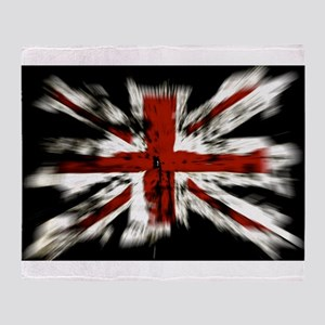 British Flag Union Jack Throw Blanket