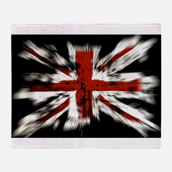 British Flag Union Jack Throw Blanket
