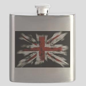 British Flag Union Jack Flask