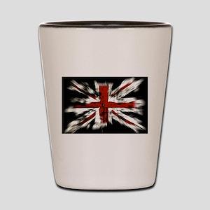 British Flag Union Jack Shot Glass