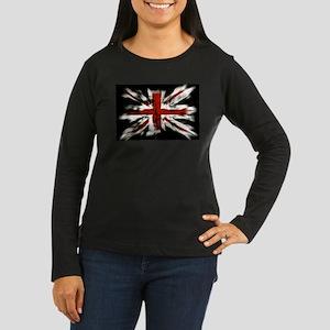 British Flag Union Jack Long Sleeve T-Shirt