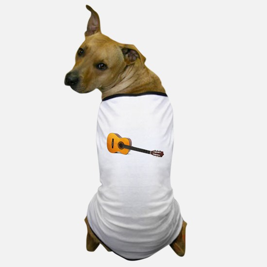 acustic guitar Dog T-Shirt
