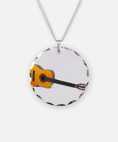 acustic guitar Necklace