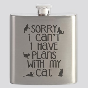 Sorry Plans With The Cat Flask