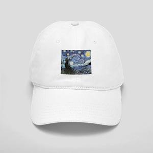 Starry Night Vincent Van Gogh Baseball Cap