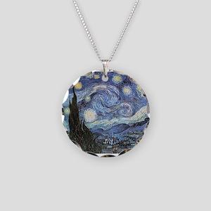 Starry Night Vincent Van Gogh Necklace