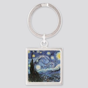 Starry Night Vincent Van Gogh Keychains