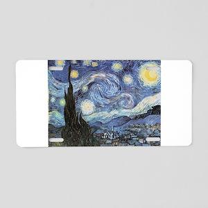 Starry Night Vincent Van Gogh Aluminum License Pla