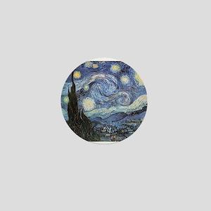 Starry Night Vincent Van Gogh Mini Button