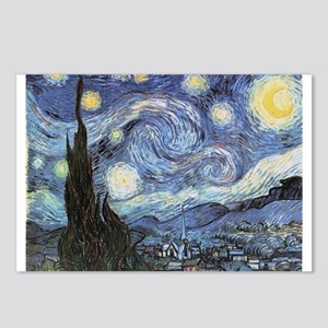Starry Night Vincent Van Gogh Postcards (Package o
