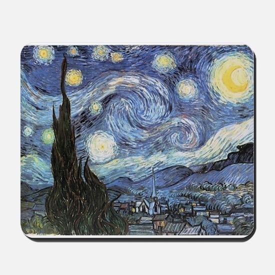 Starry Night Vincent Van Gogh Mousepad