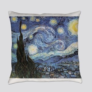 Starry Night Vincent Van Gogh Everyday Pillow