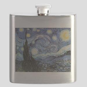 Starry Night Vincent Van Gogh Flask