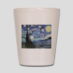 Starry Night Vincent Van Gogh Shot Glass