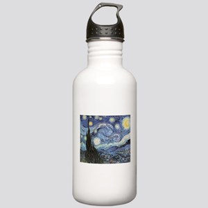 Starry Night Vincent Van Gogh Water Bottle