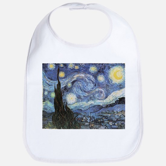 Starry Night Vincent Van Gogh Bib