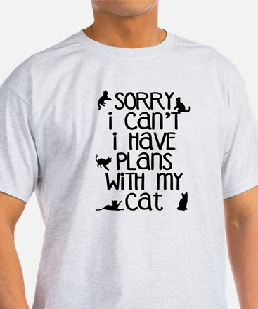 Sorry Plans With The C T-Shirt