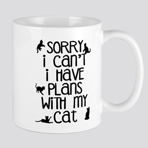 Sorry Plans With The Cat Mugs