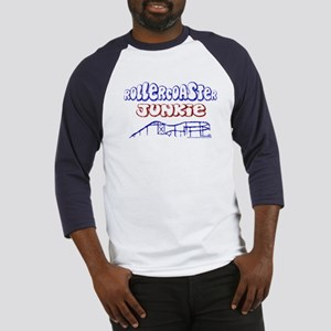 Roller Coaster Junkie Baseball Jersey