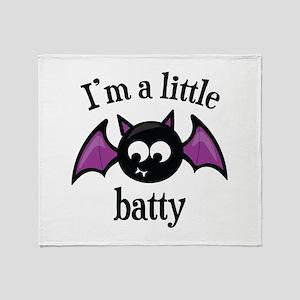 Little Batty Throw Blanket