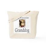 My Favorite Granddog Tote Bag