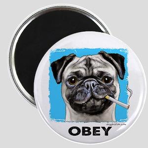 Obey Pug Magnet