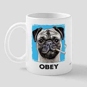 Obey Pug Mug