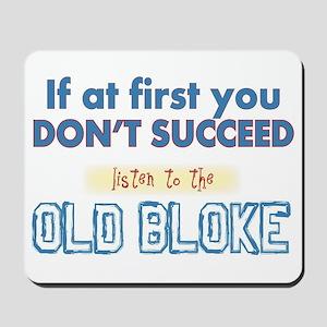 Old Bloke Mousepad