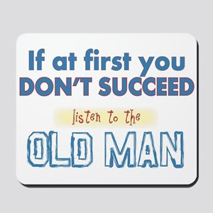 Old Man Mousepad