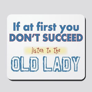 Old Lady Mousepad