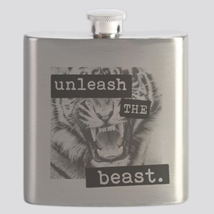 Unleash the Beast Flask