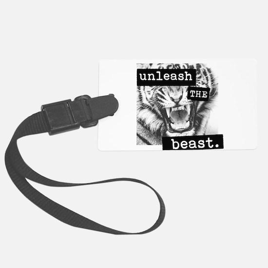 Unleash the Beast Luggage Tag