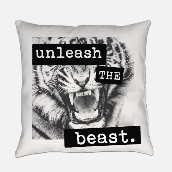 Unleash The Beast Everyday Pillow