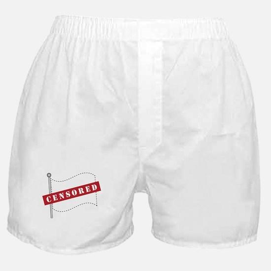 Censored Flag Boxer Shorts