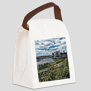 Saint Paul, Minnesota Canvas Lunch Bag