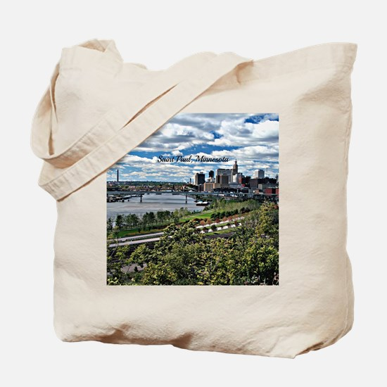 Saint Paul, Minnesota Tote Bag