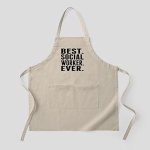 Best. Social Worker. Ever. Apron