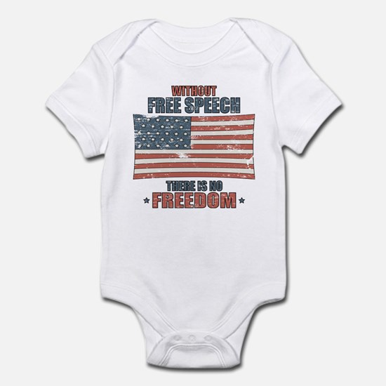 Free Speech Infant Bodysuit