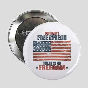 """Free Speech 2.25"""" Button"""