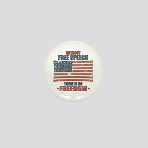 Free Speech Mini Button