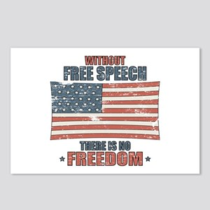 Free Speech Postcards (Package of 8)