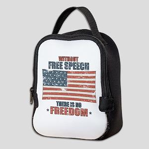 Free Speech Neoprene Lunch Bag