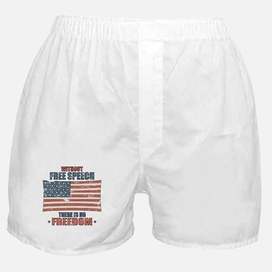 Free Speech Boxer Shorts