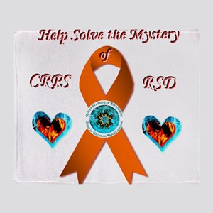 Help Solve the Mystery of CRPS RSD O Throw Blanket