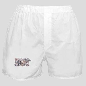 Crime and Punishment Boxer Shorts