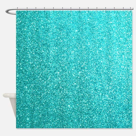Cute Tiffany blue Shower Curtain